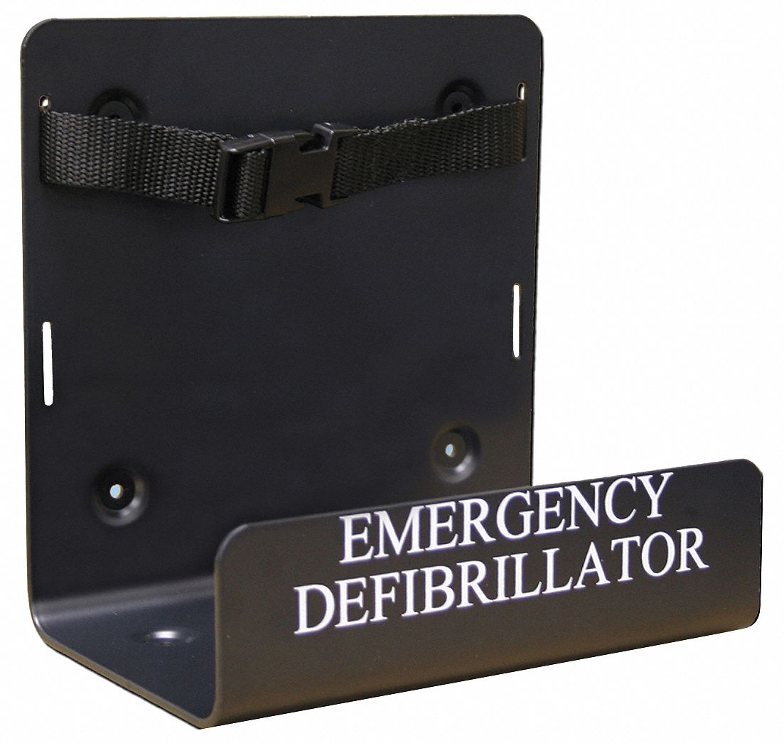 AED Wall Bracket; For Use With Mfr. No. DCF-A100-RX-EN, DCF-A110-RX-EN, DCF-A2310RX
