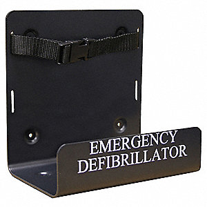 AED Wall Bracket&#x3b; For Use With Mfr. No. DCF-A100-RX-EN, DCF-A110-RX-EN, DCF-A2310RX