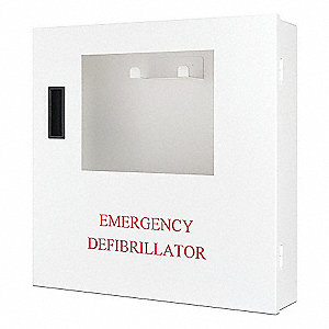 AED Wall Cabinet&#x3b; For Use With Mfr. No. DCF-A100-RX-EN, DCF-A110-RX-EN, DCF-A2310RX