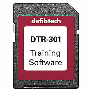 AED Training Software Care; For Use With Mfr. No. DCF-A100-RX-EN, DCF-A110-RX-EN, DCF-350T-EN