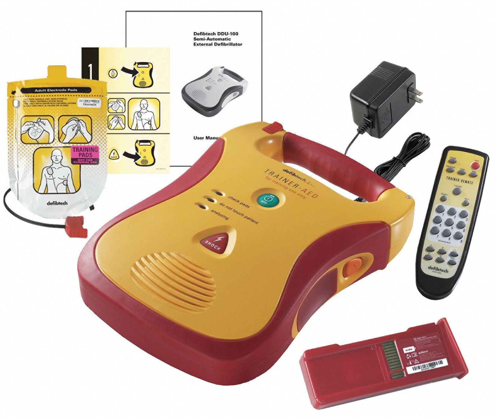 Semi-Automatic Lifeline AED Trainer, AHA Compliant