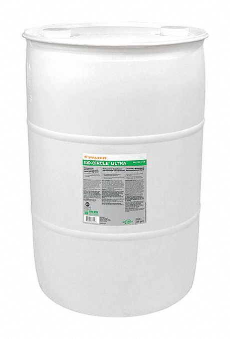 Parts Washer Cleaning Solution,  Size 55 gal
