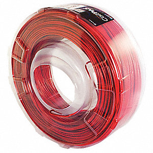 1000 ft. Solid Building Wire with THHN Wire Type and 12 AWG Wire Size, Red