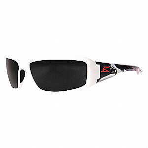 Brazeau Patriot Scratch-Resistant Safety Glasses, Smoke Lens Color