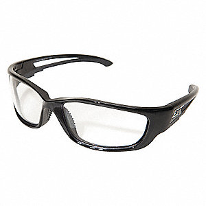 Kazbek XL Scratch-Resistant Safety Glasses, Clear Lens Color