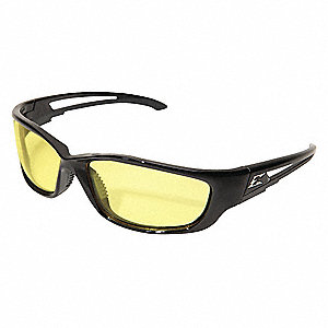 Kazbek XL with Vapor Shield Anti-Fog, Scratch-Resistant Safety Glasses , Yellow Lens Color