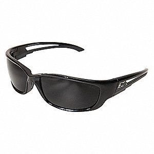 Kazbek Scratch-Resistant Safety Glasses, Smoke Lens Color