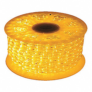 LED Rope Light,70.5W,Yellow,825 lm,120V