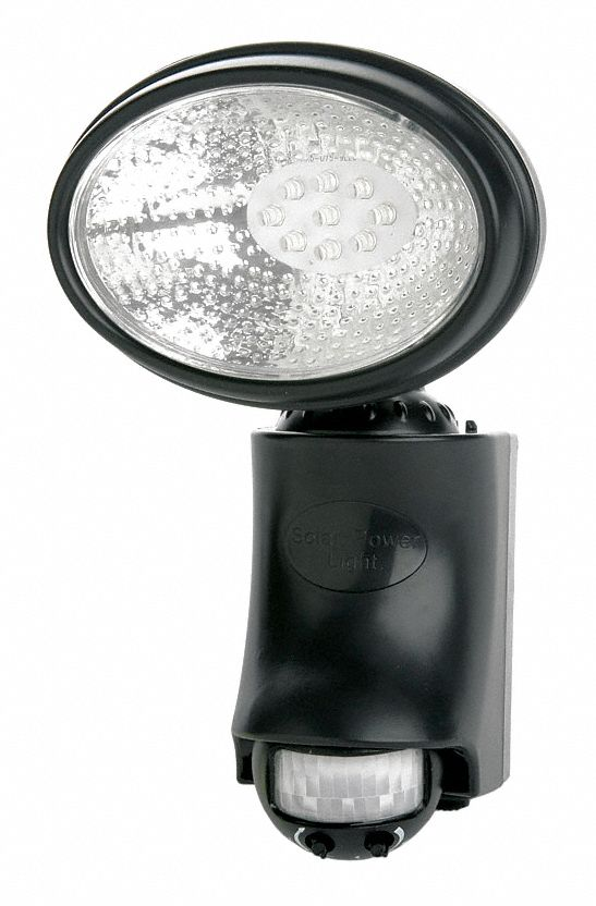 Solar Light,  6,500 K Color Temperature,  40 lm,  6.3 W Fixture Wattage,  1.6V AC