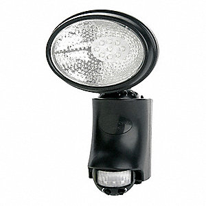 40 Lumens General Purpose Floodlight Black