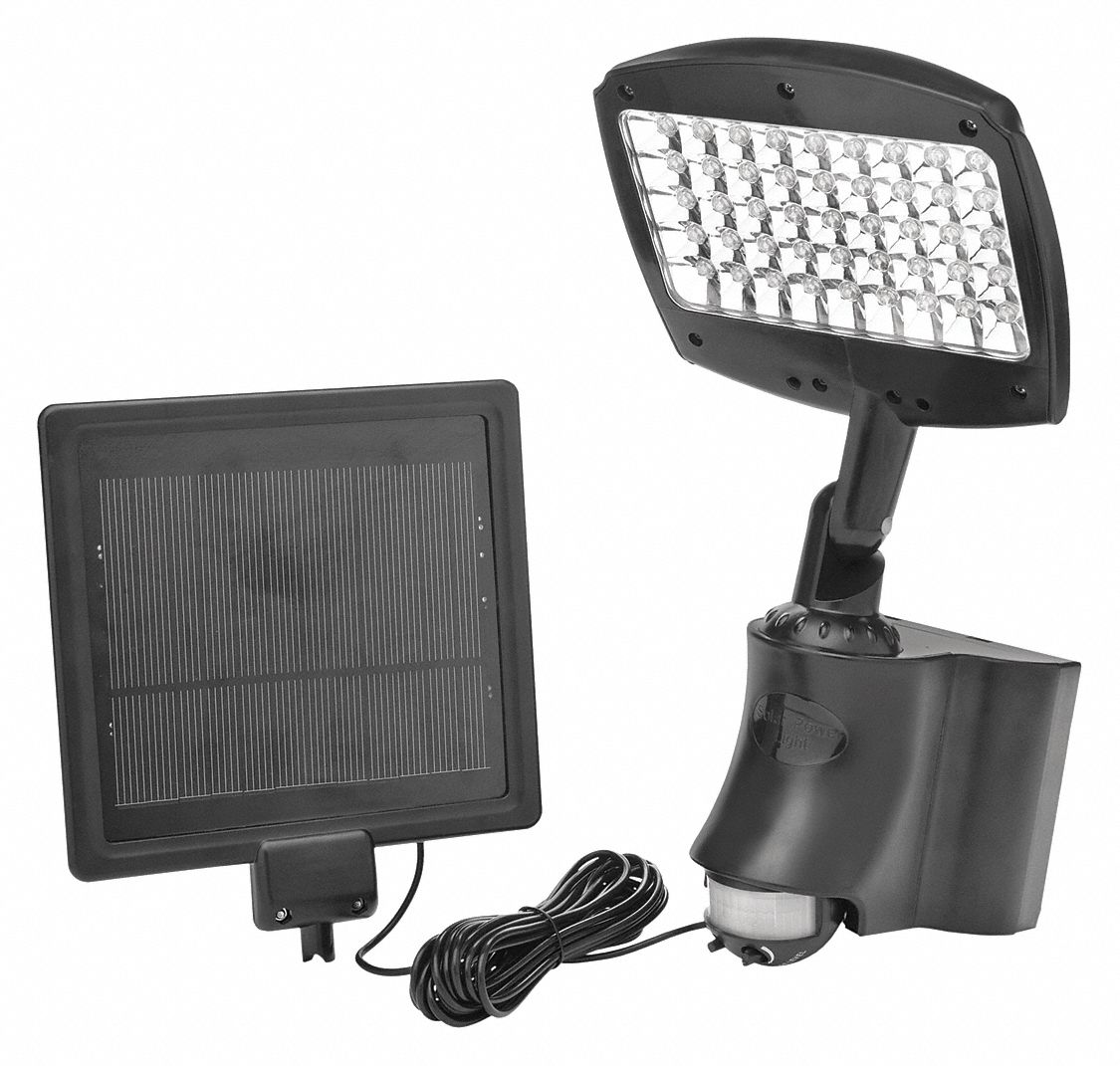 Solar Light,  6,500 K Color Temperature,  270 lm,  13.5 W Fixture Wattage,  3.6V DC