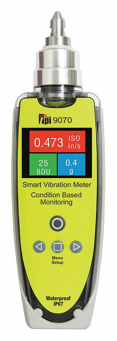 Vibration Meter, IP67 Rated