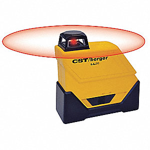 Pendulum Self Leveling Line/Dot Laser Level, Horizontal, Exterior
