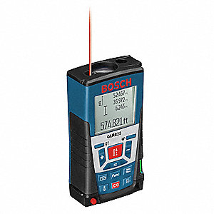 bosch laser distance meter 825 ft max distance 1 16 accuracy 38p110 glr825 grainger. Black Bedroom Furniture Sets. Home Design Ideas