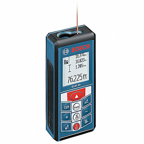 Bosch medidor distancia l ser 2pulga265pies medidores de for Medidor de distancia laser