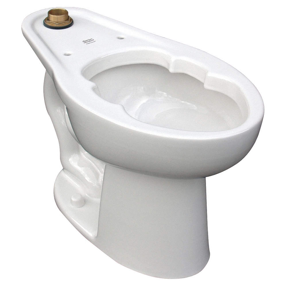 AMERICAN STANDARD Bedpan Holding Toilet Bowl, Floor Mounting Style ...