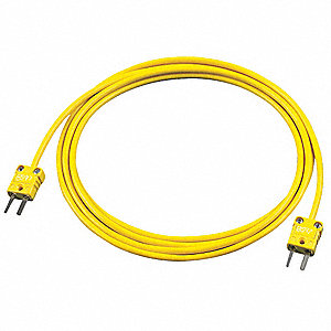 EXT Lead,PVC,72 in. L,Yellow