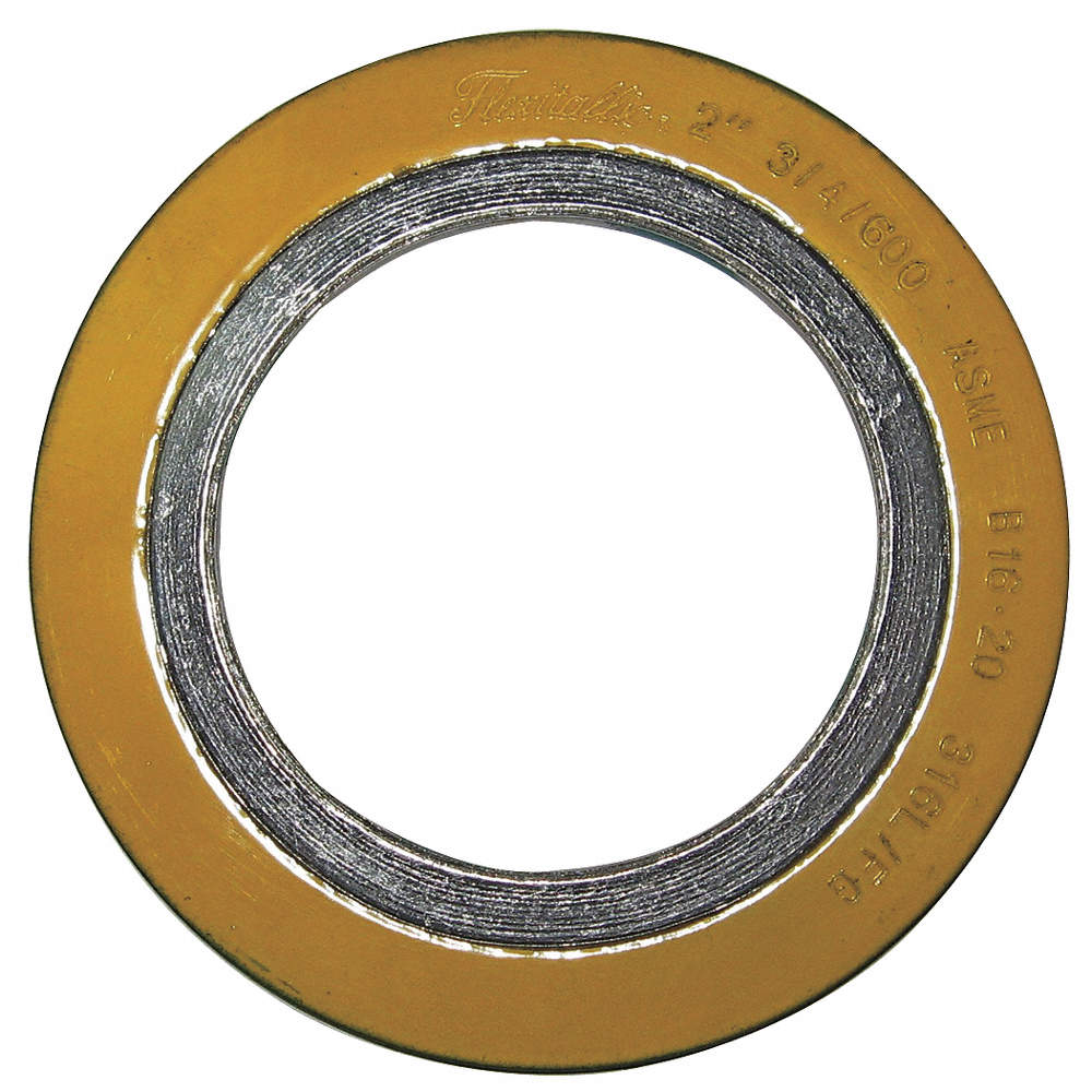 316SS and Flexible Graphite Spiral Wound Metal Gasket, 4-1/8