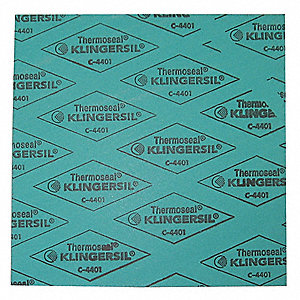 Synthetic Fibers with Nitrile Binder Gasket Sheet, Green