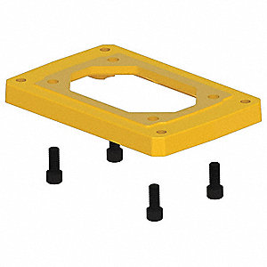 Mounting Base,B,6.00 In.,For HERA75