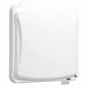 Horizontal or Vertical-Mount While In Use Weatherproof Cover, 2-Gang, Polycarbonate
