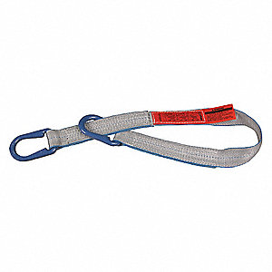 "8 ft. Universal Link - Type U Web Sling, Tuff-Edge Polyester, Number of Plies: 1, 2"" W"