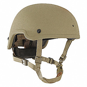 Level IIIA Lightweight Helmet,M,High,Tan