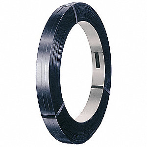 "5/8""W x 2910 ft. Steel Strapping&#x3b; Breaking Strength: 1625 lb."