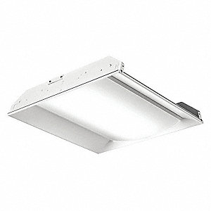 Recessed Troffer, 4000K, Lumens 3300, Fixture Rated Life 50,000 hr.
