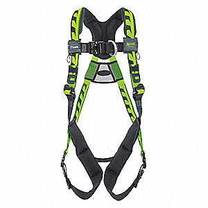 AirCore  Full Body Harness with 400 lb. Weight Capacity, Green, S/M