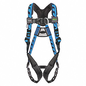 AirCore™ Full Body Harness with 400 lb. Weight Capacity, Blue, 2XL