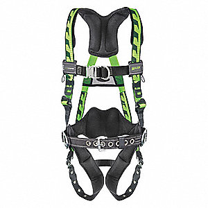 AirCore™ Full Body Harness with 400 lb. Weight Capacity, Green, 2XL