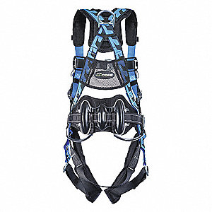 AirCore™ Wind Energy Full Body Harness with 400 lb. Weight Capacity, Blue, S/M