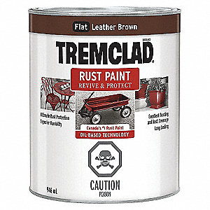 PAINT RUST LEATHER BROWN 946ML