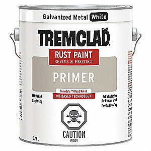 PRIMER RUST GALVANIZED WHITE 3.78L