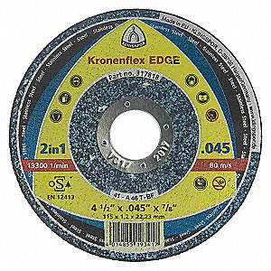 WHEEL EDGE CUT-OFF 4-1/2X.045X7/8