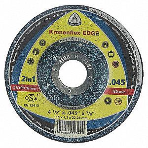 WHEEL EDGE CO 4-1/2X.045X7/8 T-27