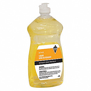 Hand Wash, 28 oz. Bottle, Unscented Liquid, Ready to Use, 1 EA