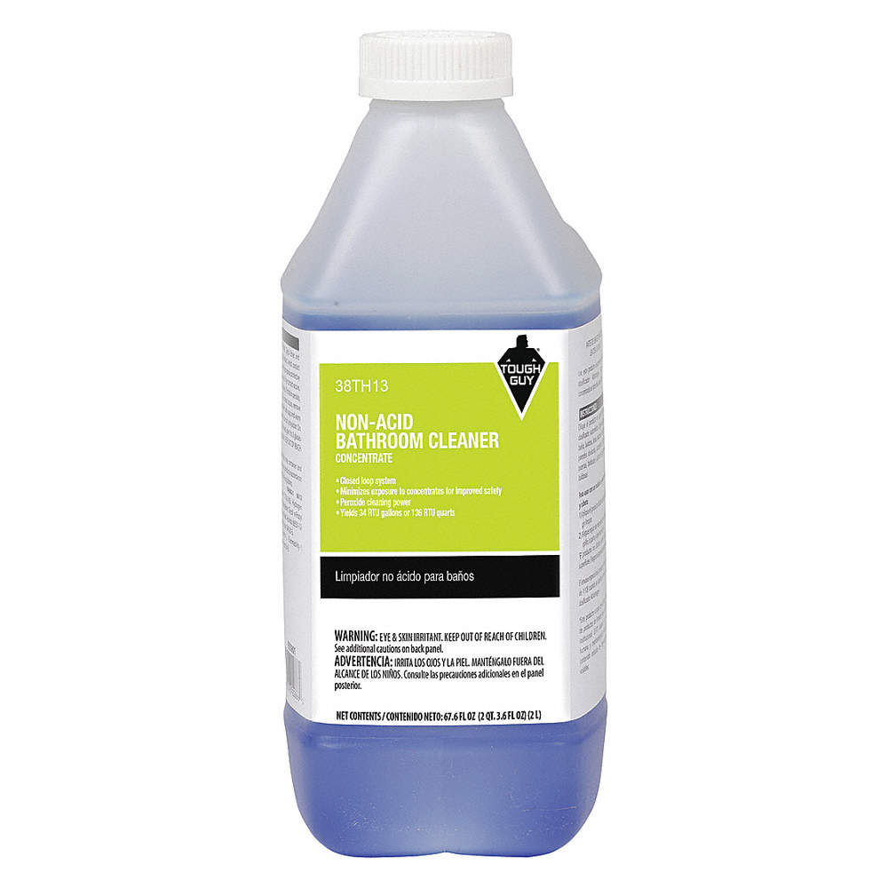 Excellent Non Acid Bathroom Cleaner For Use With Tough Guy Chemical Dispenser 1 Ea Interior Design Ideas Jittwwsoteloinfo