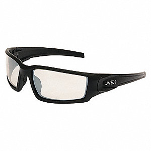 Hypershock Scratch-Resistant Safety Glasses, SCT-Reflect 50 Lens Color