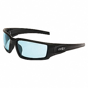 Hypershock Anti-Fog Safety Glasses, SCT-Blue Lens Color
