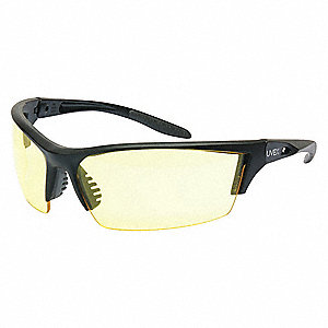 Instinct  Anti-Fog Safety Glasses, Amber Lens Color