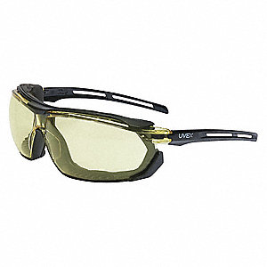Tirade™ Anti-Fog Safety Glasses, Amber Lens Color