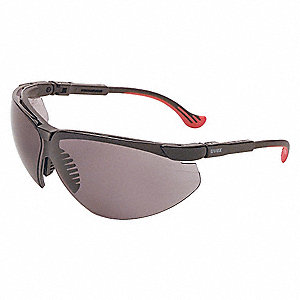 Genesis XC HydroShield Anti-Fog, Hydrophilic, Hydrophobic, Scratch-Resistant Safety Glasses, Gray Le