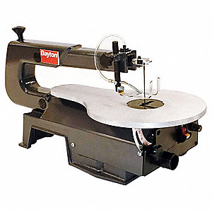 "16"" Variable Speed Scroll Saw, 1.2 Amps, Cutting Capacity: 2"" @ 90 Degrees , 3/4"" @ 45 Degrees"