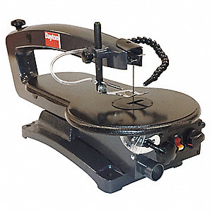 Dayton 18 variable speed scroll saw 12 amps cutting capacity 2 18 variable speed scroll saw 12 amps cutting capacity 2 greentooth Choice Image