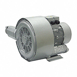 "1.20 Regenerative Blower 1 Phase, 104-127/208-254 Voltage, 1"" (F)NPT Inlet Size"