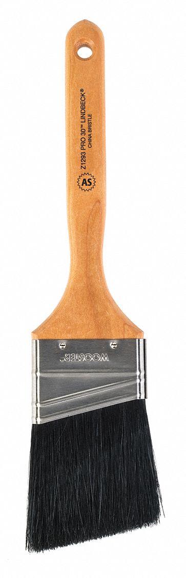"""Wooster 2/"""" Pro 30 Lindbeck Angle Sash Paintbrush Black China Bristle Z1293"""