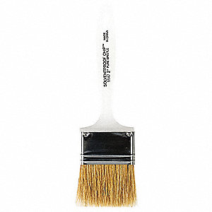 2 in Chip China Hair Paint Brush, Soft, for All Paints and Coatings, 1 EA