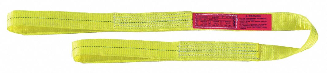 Type 5 Web Sling Number of Plies: 1 Endless 16 ft Polyester 3 W